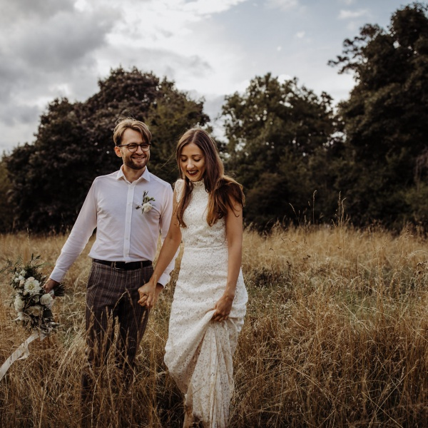Cambridge countryside elopement