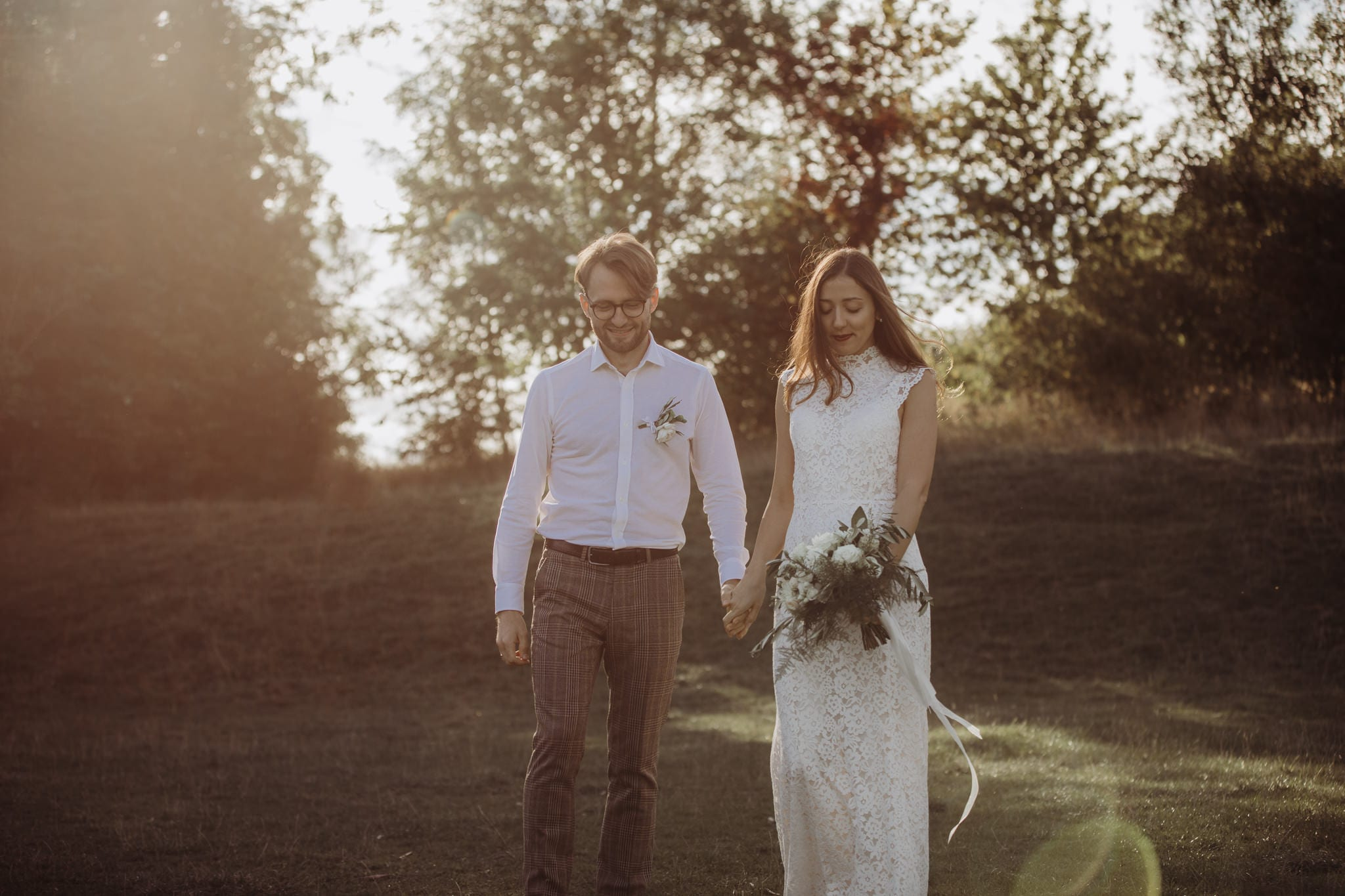 outdoor wedding elopement Cambridge