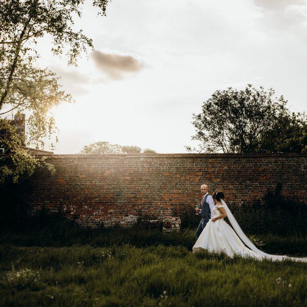 Offley Place wedding