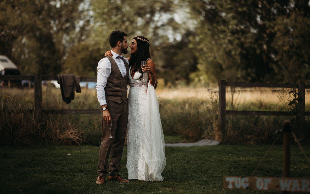 Festival Wedding at Horsley Hale Farm