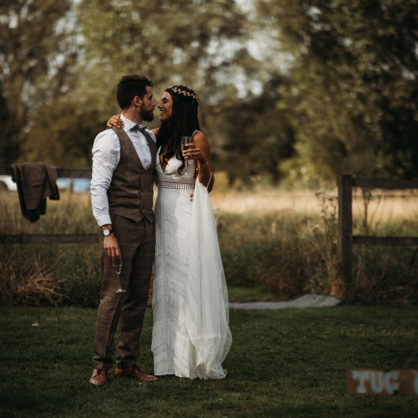 Festival Wedding at Horsley Hale Farm