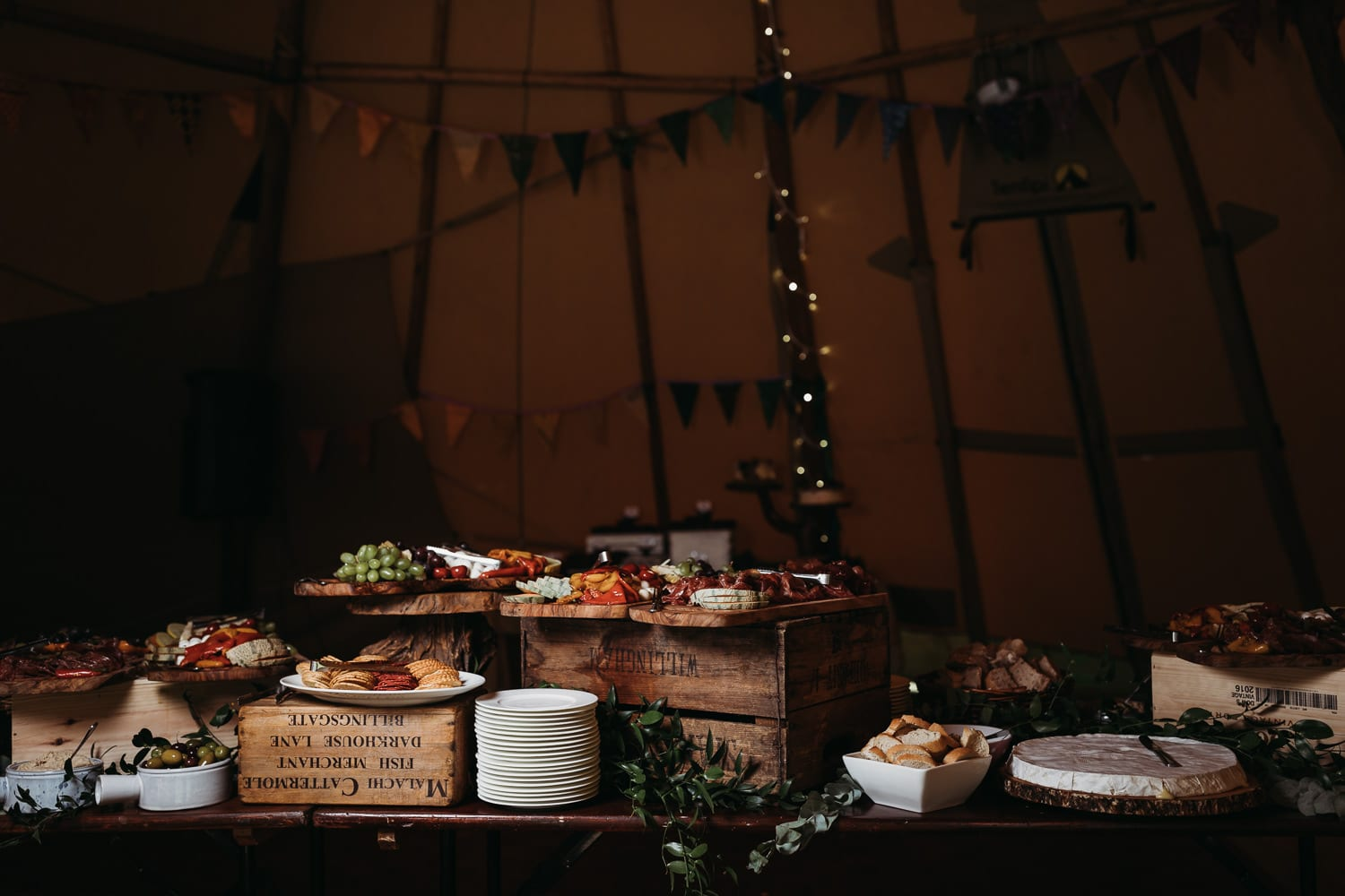 Horsley Hale farm festival wedding