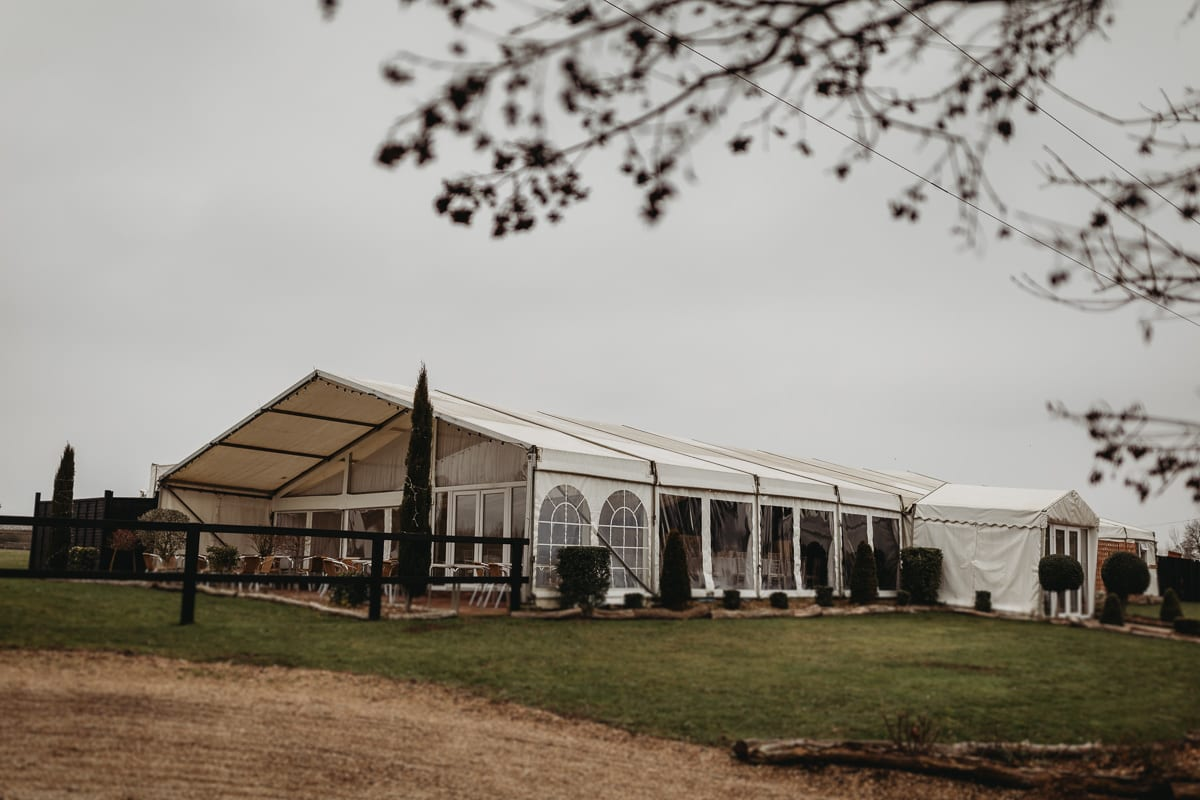 Marquee at rosewood Pavilion