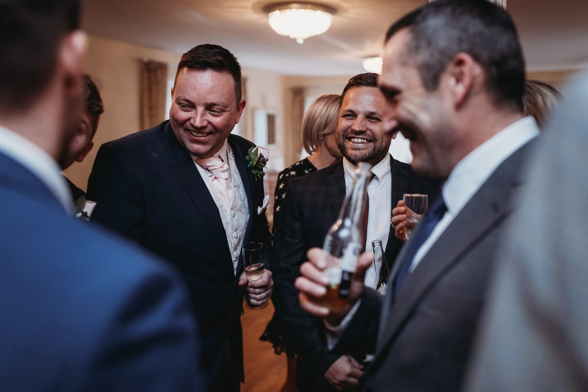 guests laughing