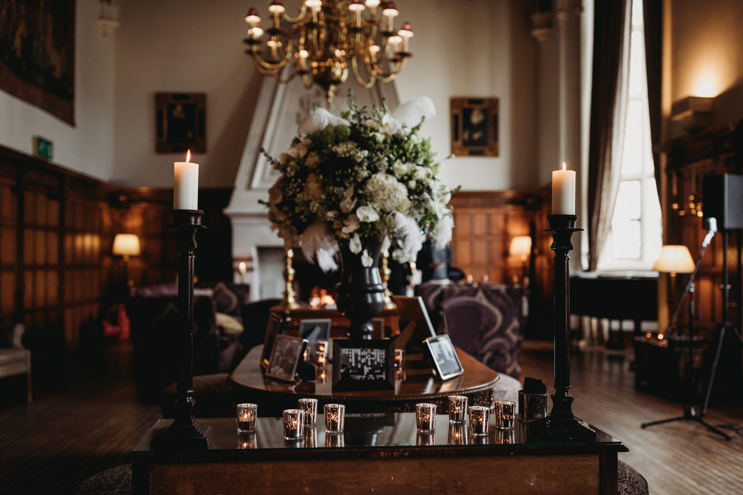 Room details at a Danesfield House wedding