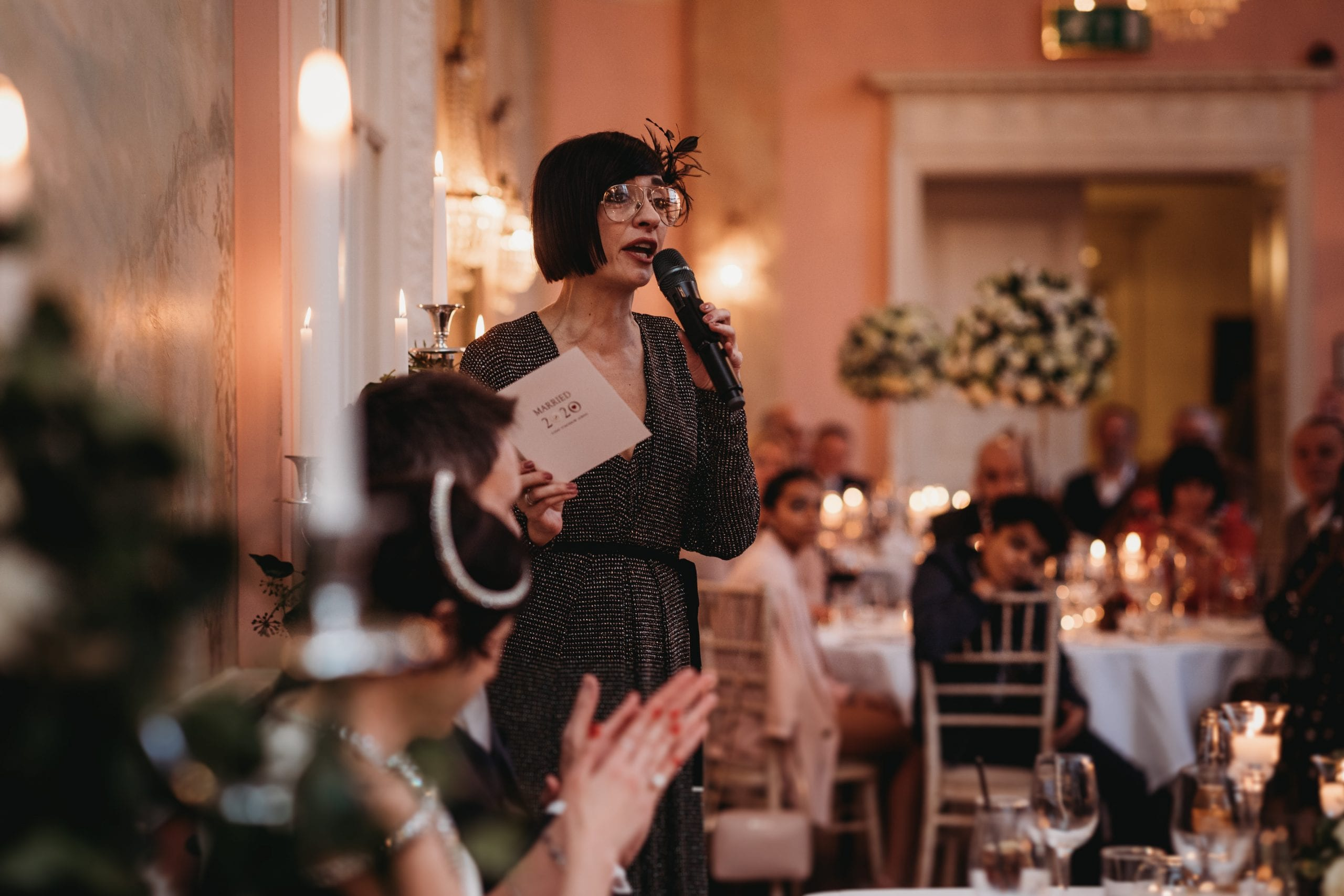 bridesmaid's speech at a Danesfield House wedding